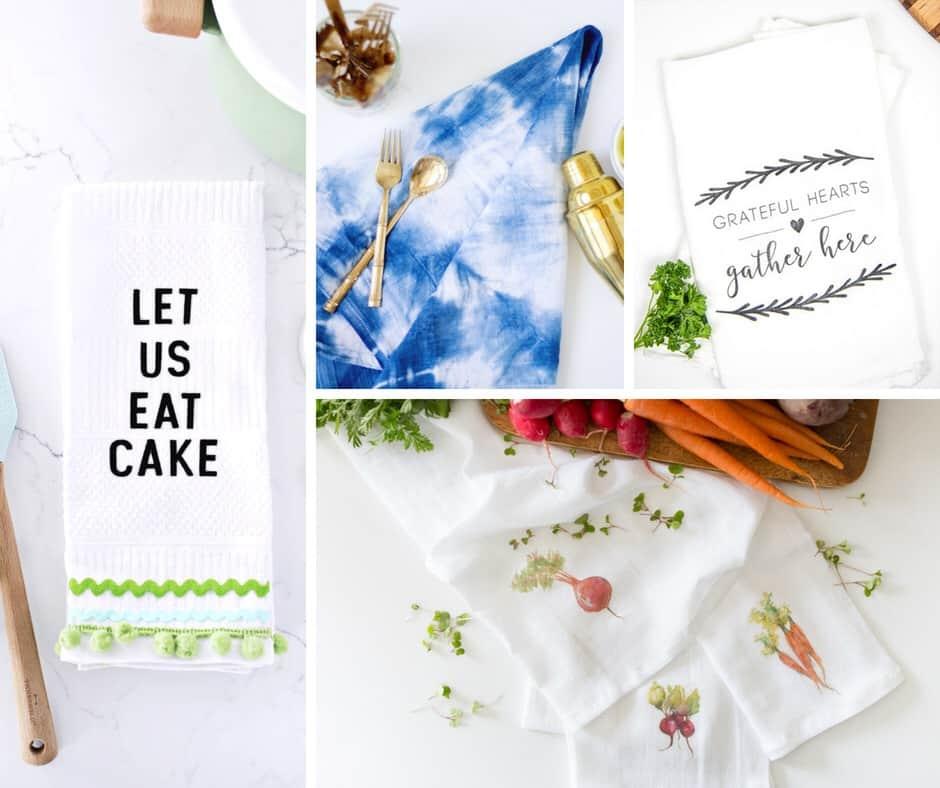 Handmade DIY Kitchen Towels