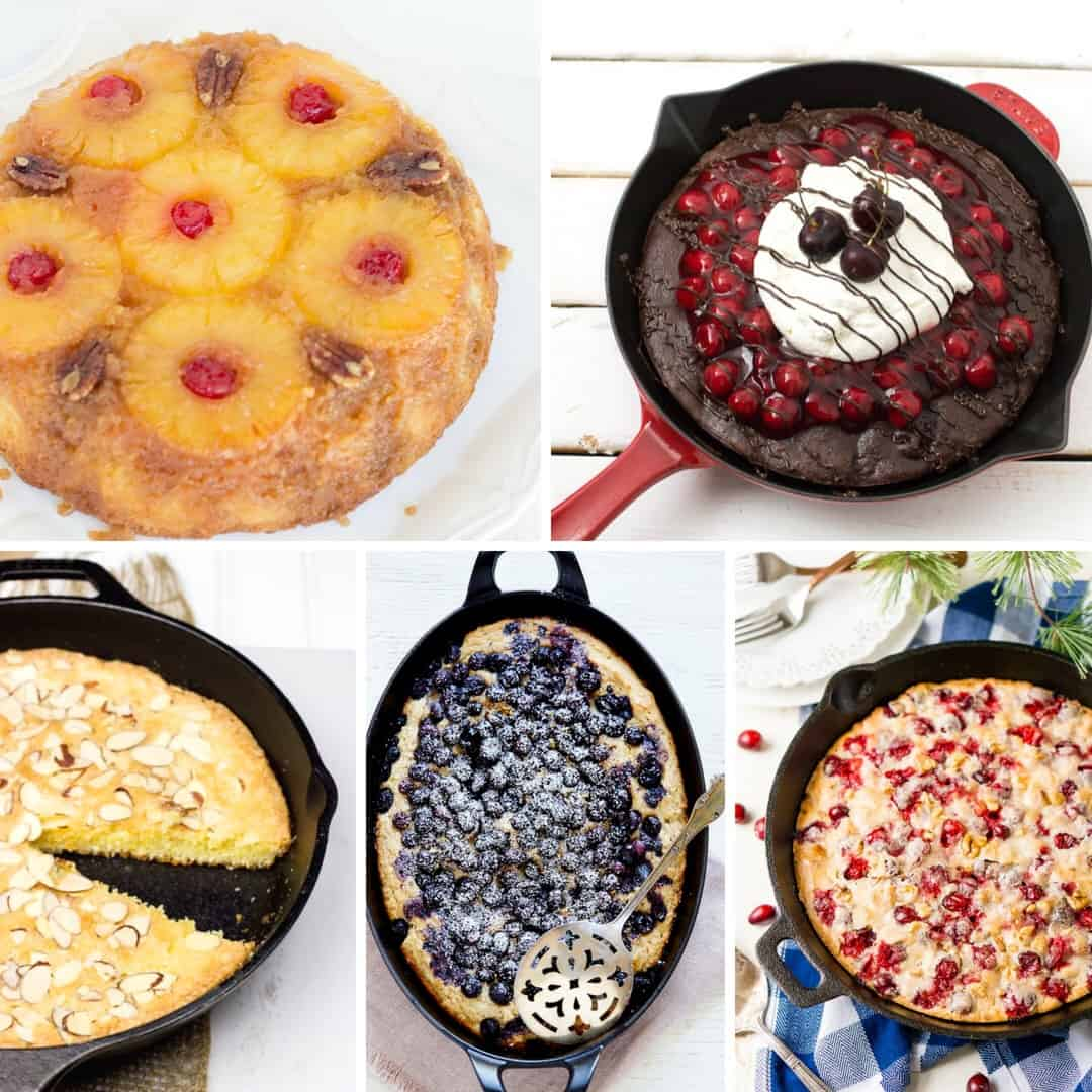 Skillet Cakes for everyday dessert