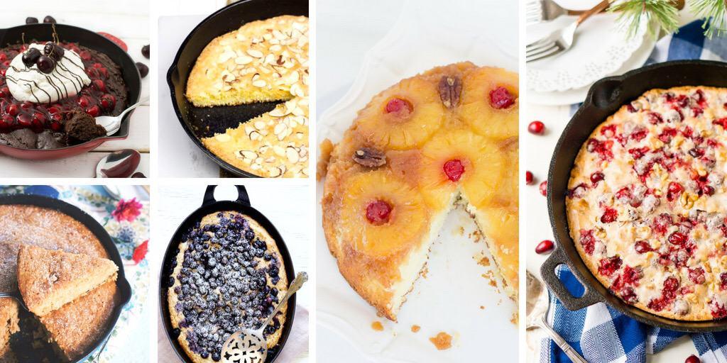 Easy Skillet Cakes for Dessert