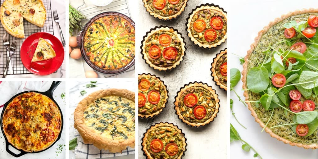 Summer Quiche Recipes