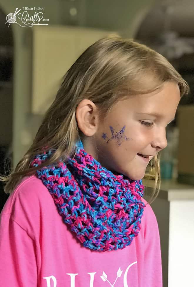 Beginner Infinity Scarf #crochet