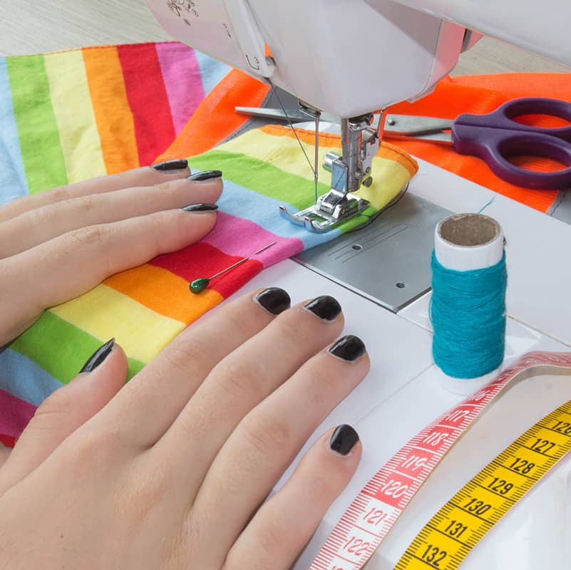 Understand your sewing machine - get started with terms, how to thread and supplies