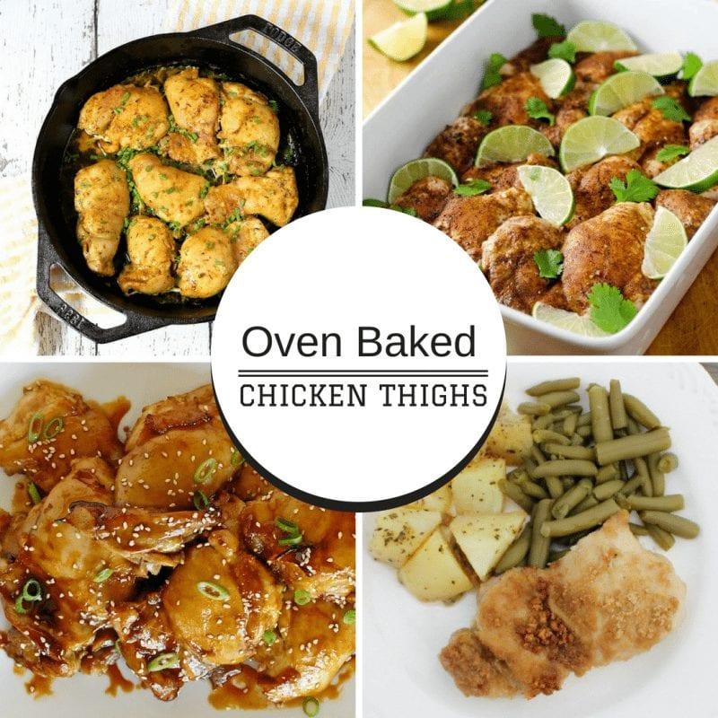 Baked chicken recipes for dinner