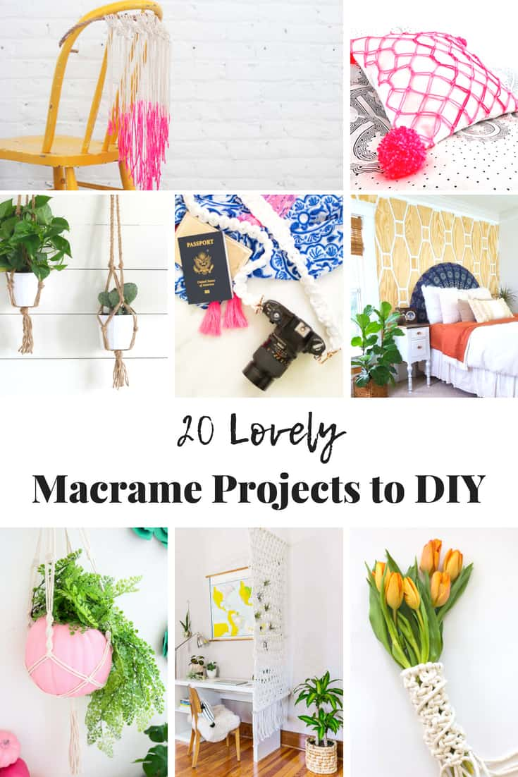 Lovely DIY Macrame Projects to try at home