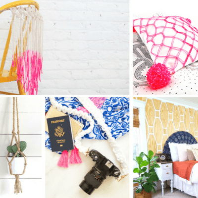 20 Lovely DIY Macrame Projects