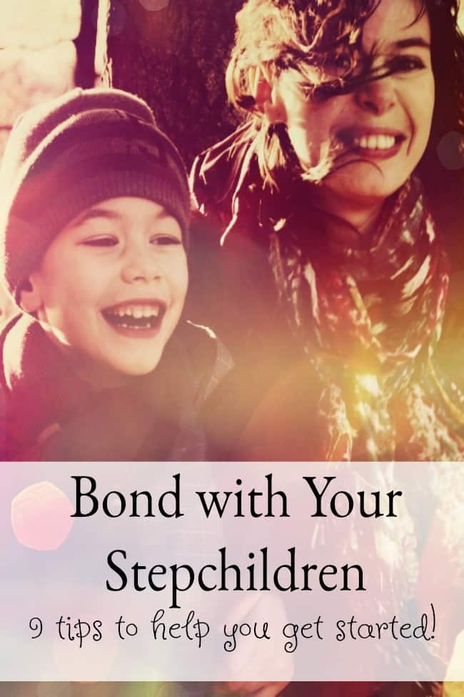 9 Tips to help you bond with your stepchildren