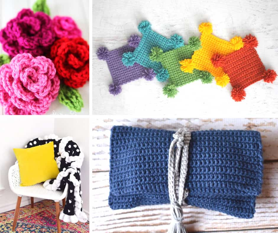 Easy Crochet Patterns to get you started as a crafter
