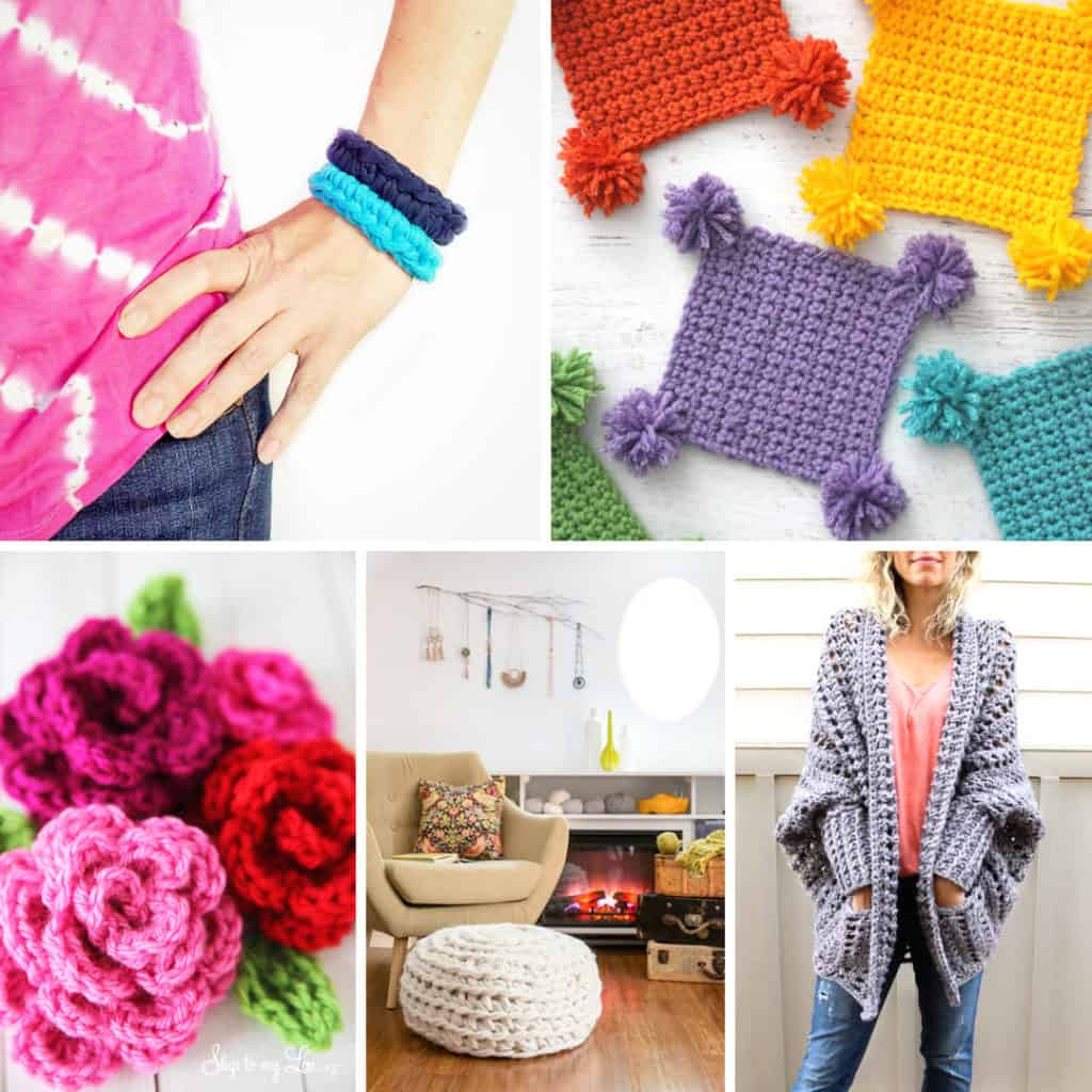 Easy Crochet patterns for beginning crafters