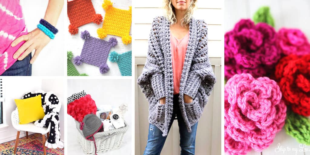 Easy Crochet Patterns For Beginners I Wish I Was Crafty