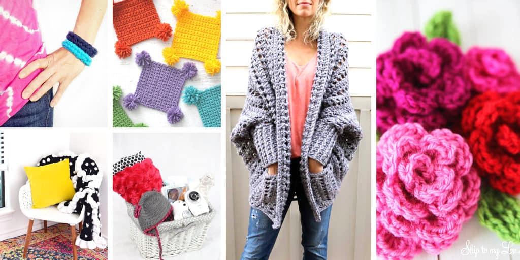 Beginner crochet patterns to try