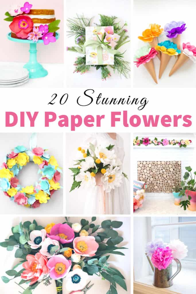How to Make Paper Flowers 20 different ways