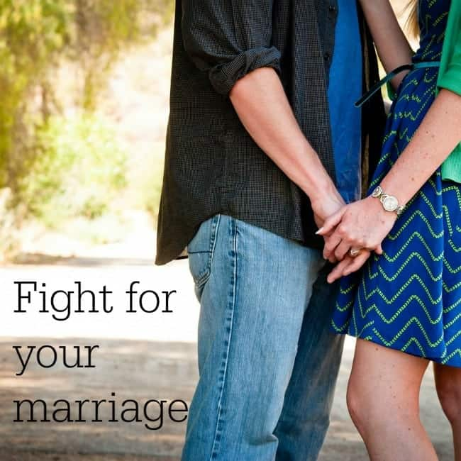 Learning to Fight for your marriage