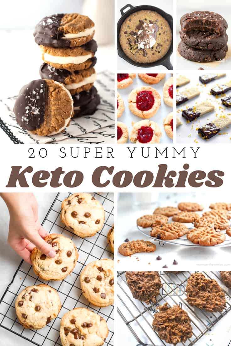 Delicious Keto Cookies - 20 Recipes for Keto Cookies