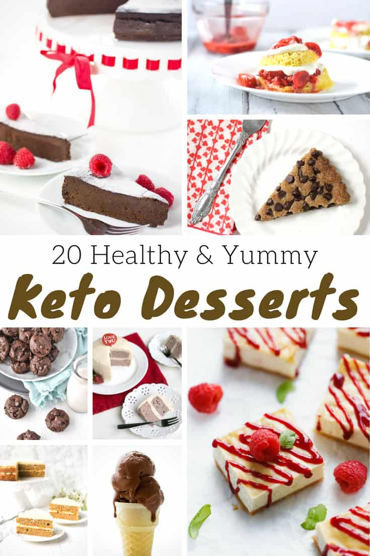 Keto Dessert Recipes - 20 Keto Desserts You Must-Try! #recipe #keto #ketodesserts #desserts