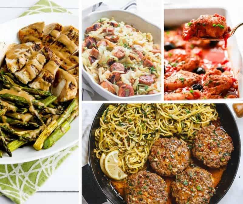 Keto Dinner Ideas with Keto Recipes