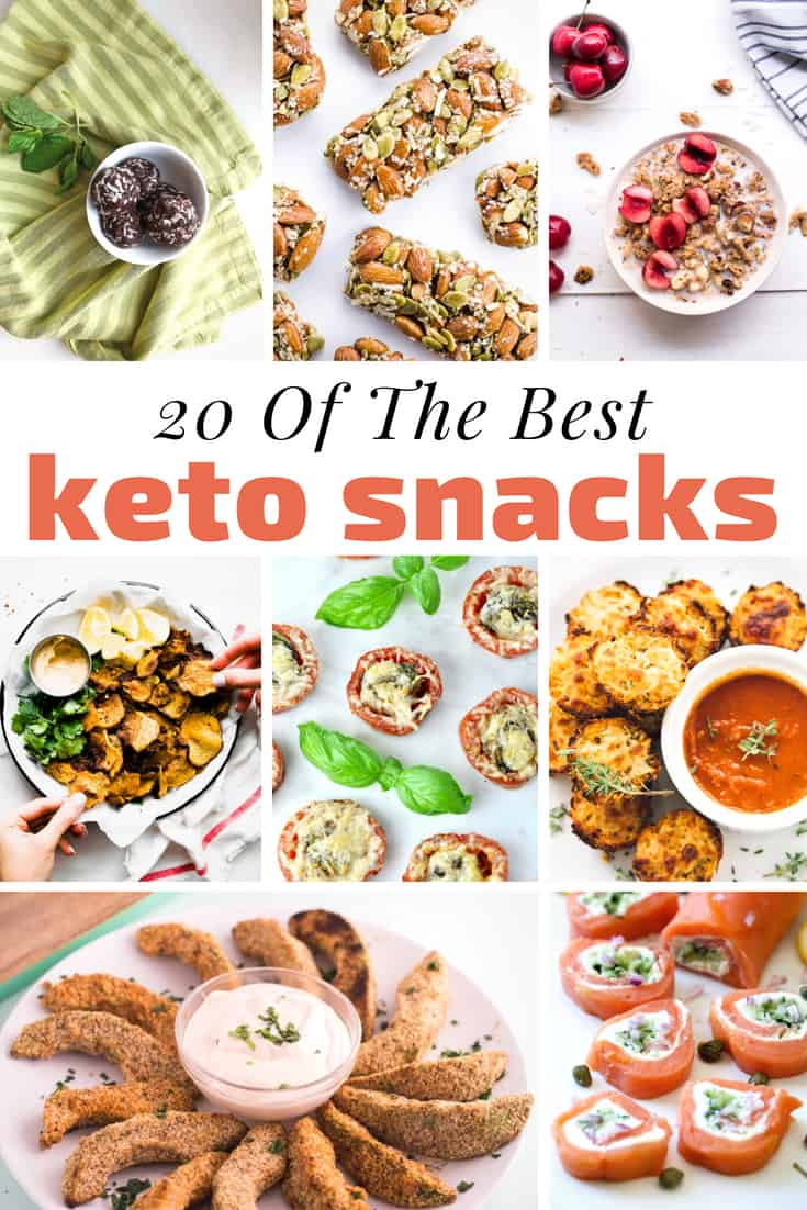 20 of the Best Keto Snacks and Snack Recipes