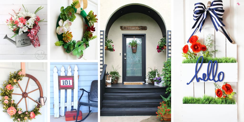 DIY Summer Front Door Decorations