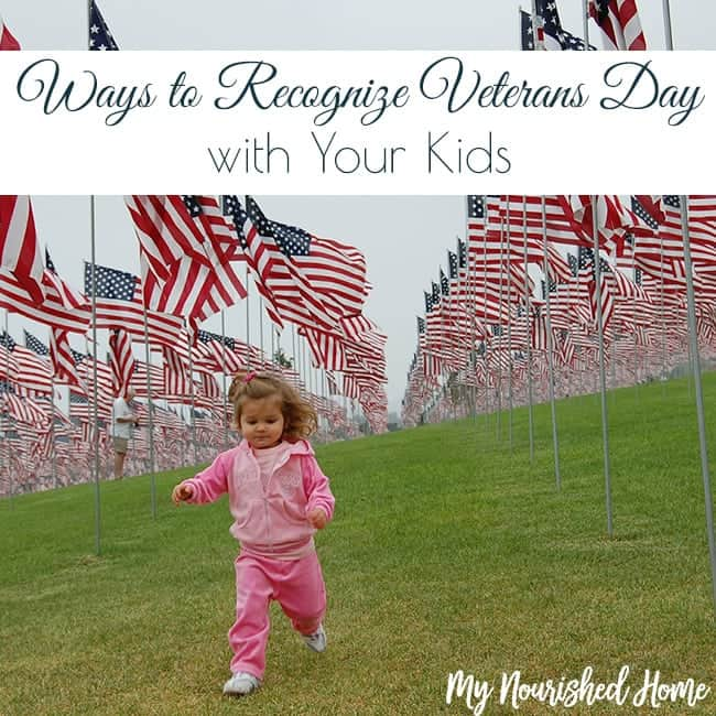 Ways to recognize Veteran's Day with your kids