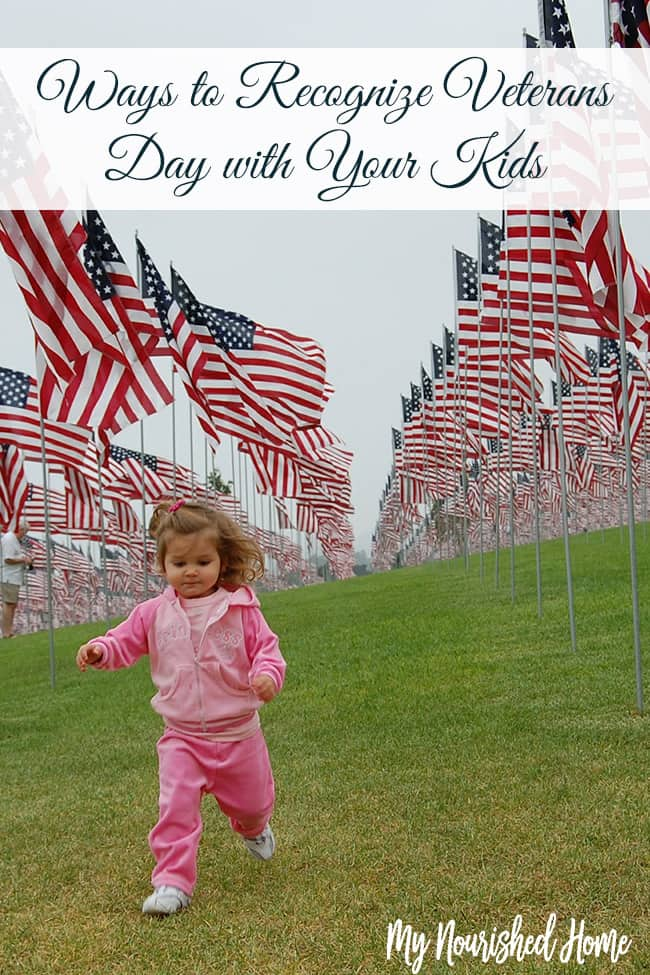 Teaching kids why we celebrate Veterans Day with grace and gratitude
