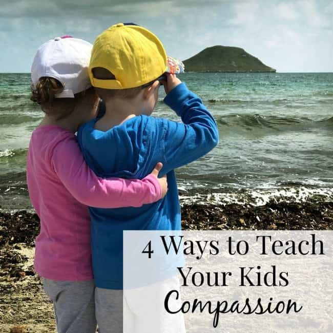 Teaching your children compassion is not as hard as you think