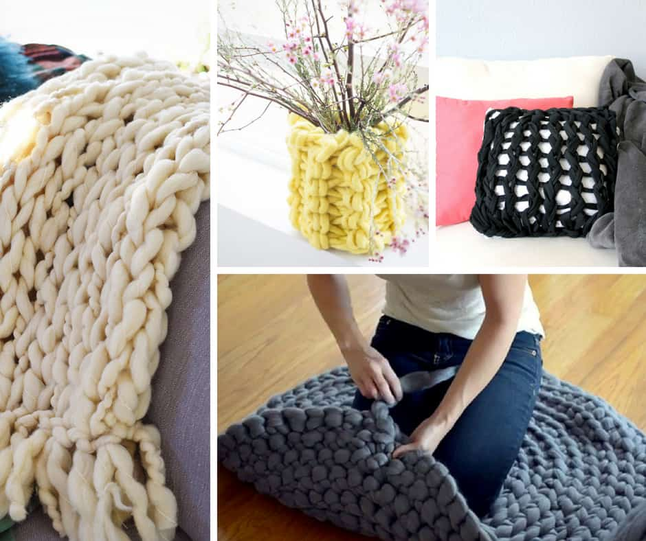 Arm Knitting Crafts to DIY