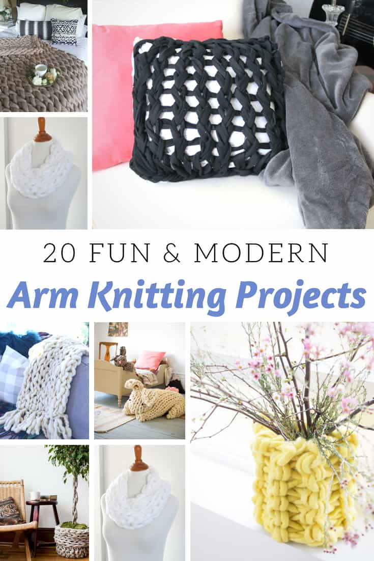 Arm Knitting Projects