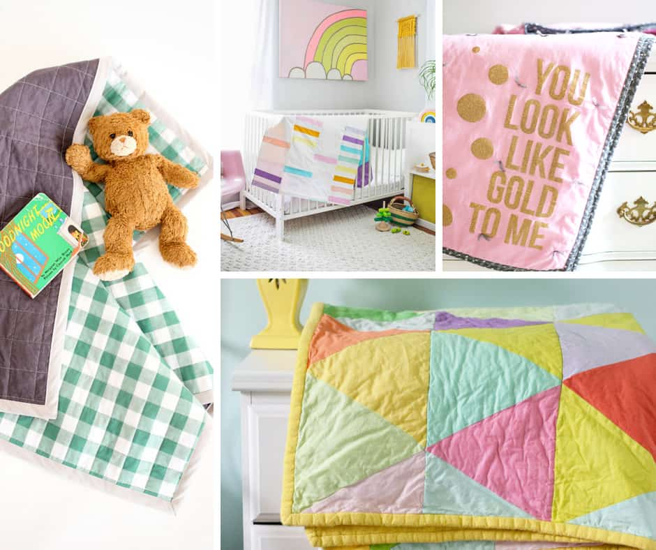 Find baby quilt patterns to make yourself