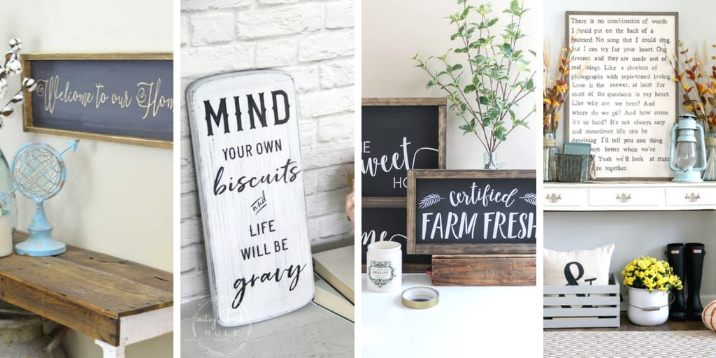 Find the perfect farmhouse sign!