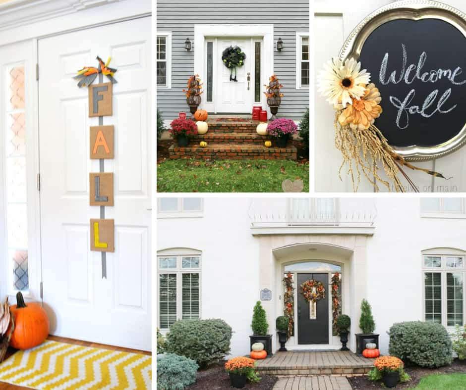 More Fall Door Decorating Ideas to Try