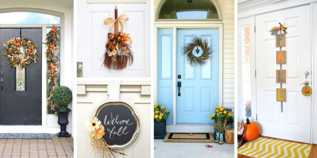 Fall Front Door Decorating Ideas to DIY