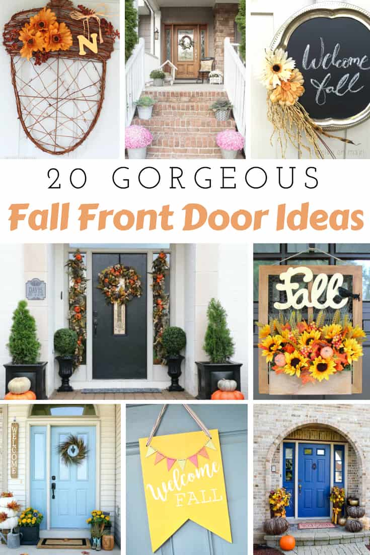 Fall Front Door Ideas to Decorate Your Home