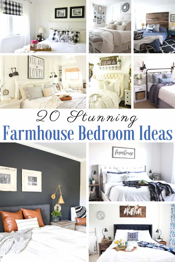 20 truly beautiful Farmhouse bedroom ideas