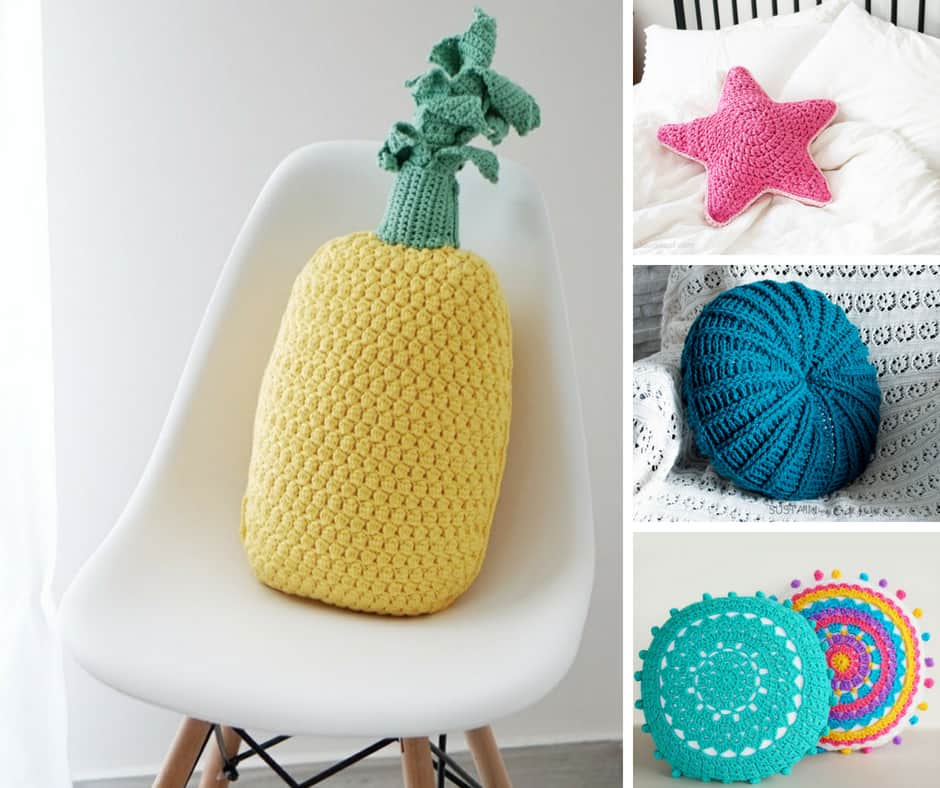 DIY Crochet Pillows