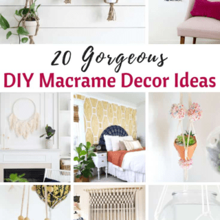 DIY Macrame Decor Ideas