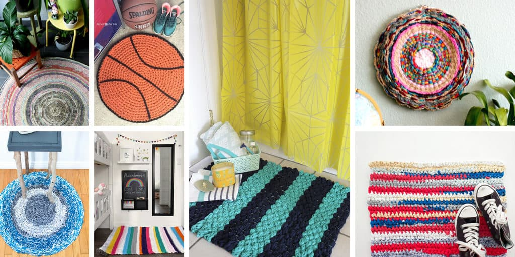 Must-Try Crocheted and Knitted Rugs