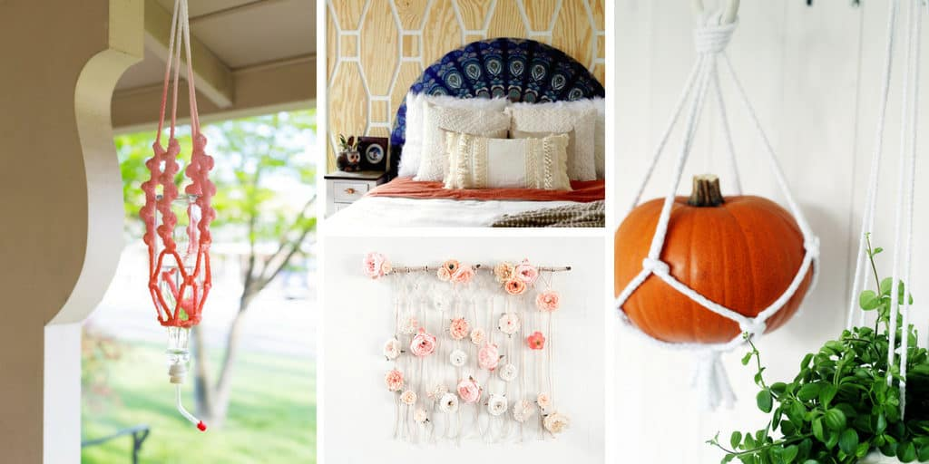 DIY Macrame Decor Ideas for your house
