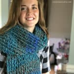 Beautiful Beginner Loom Knit Scarf