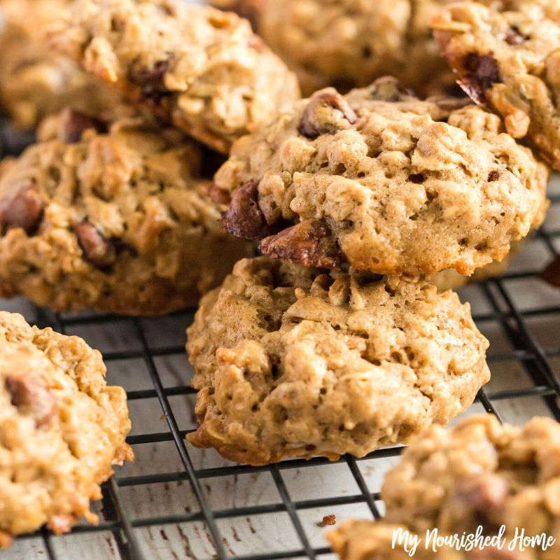 Maple Oatmeal Cookies | My Nourished Home