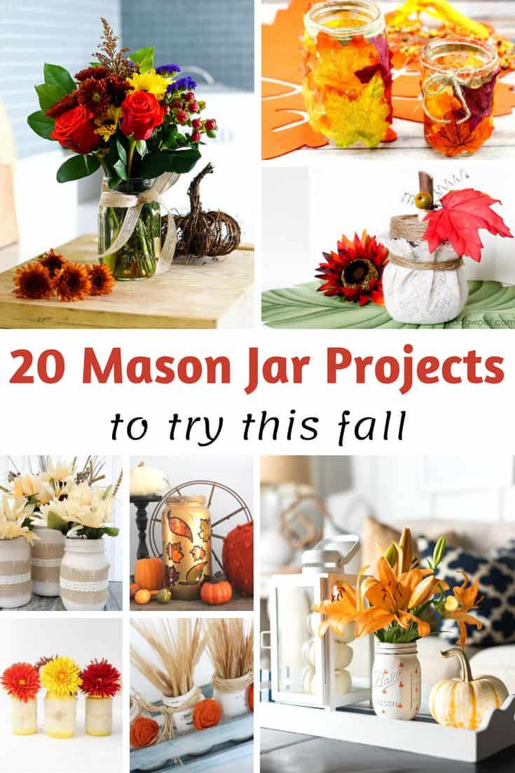 Fall Mason Jar Projects