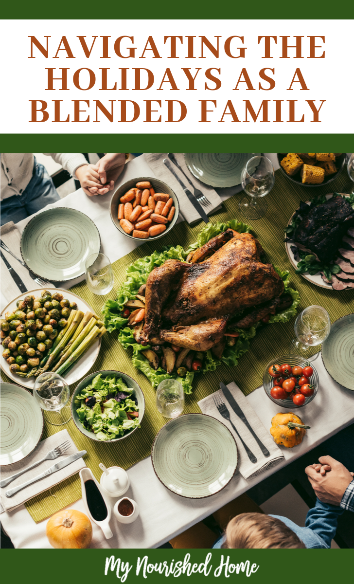 navigate the holidays with a blended family