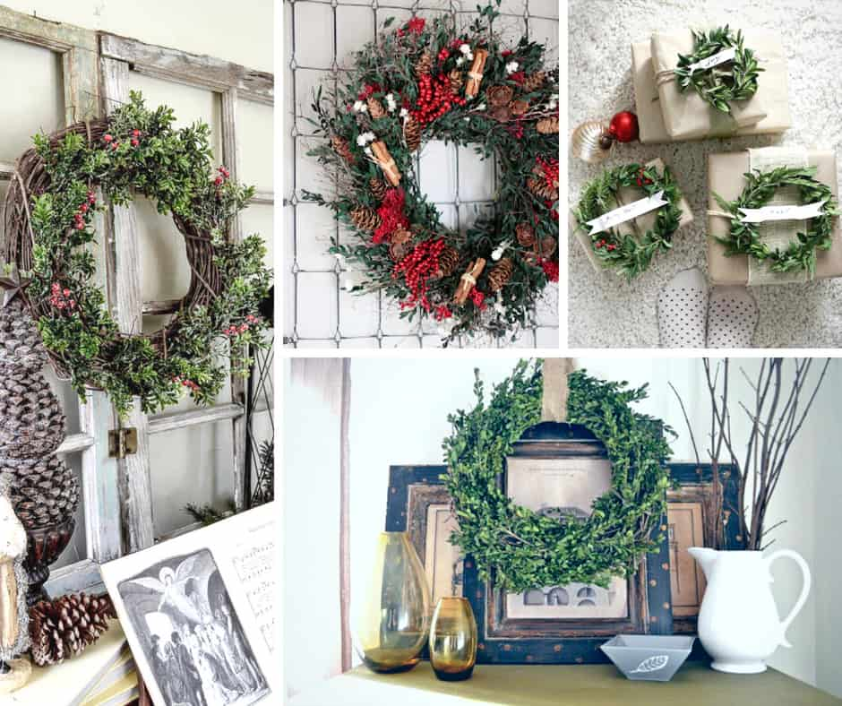 Boxwood Wreaths to DIY