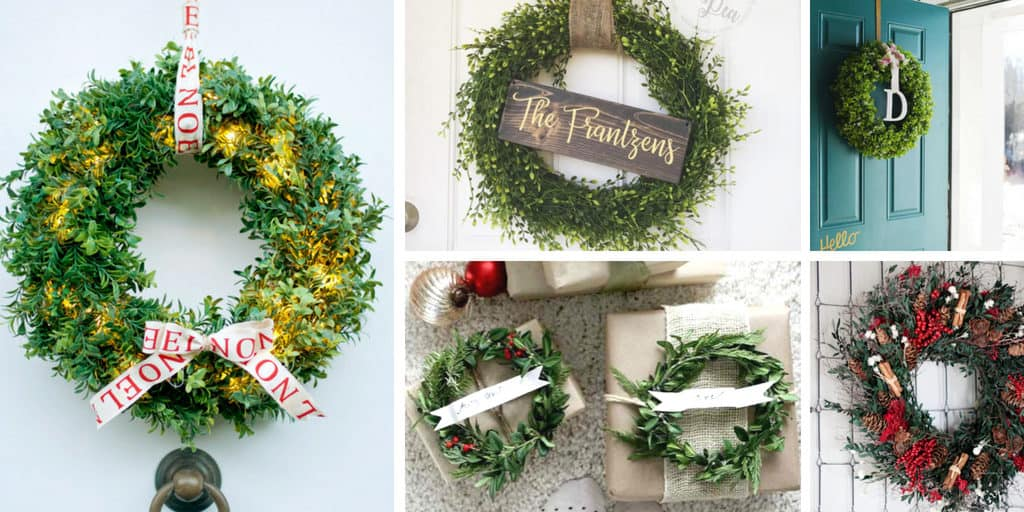 Beautiful Boxwood Wreaths to Make at Home