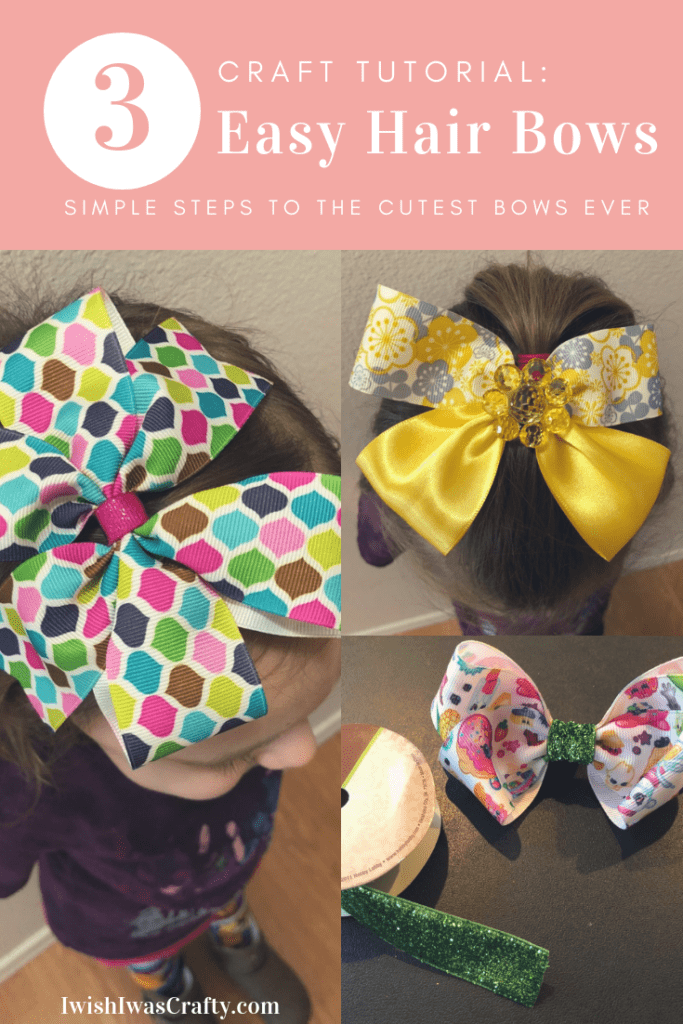 How to Make Hair Bows for Girls in 3 easy to follow tutorials