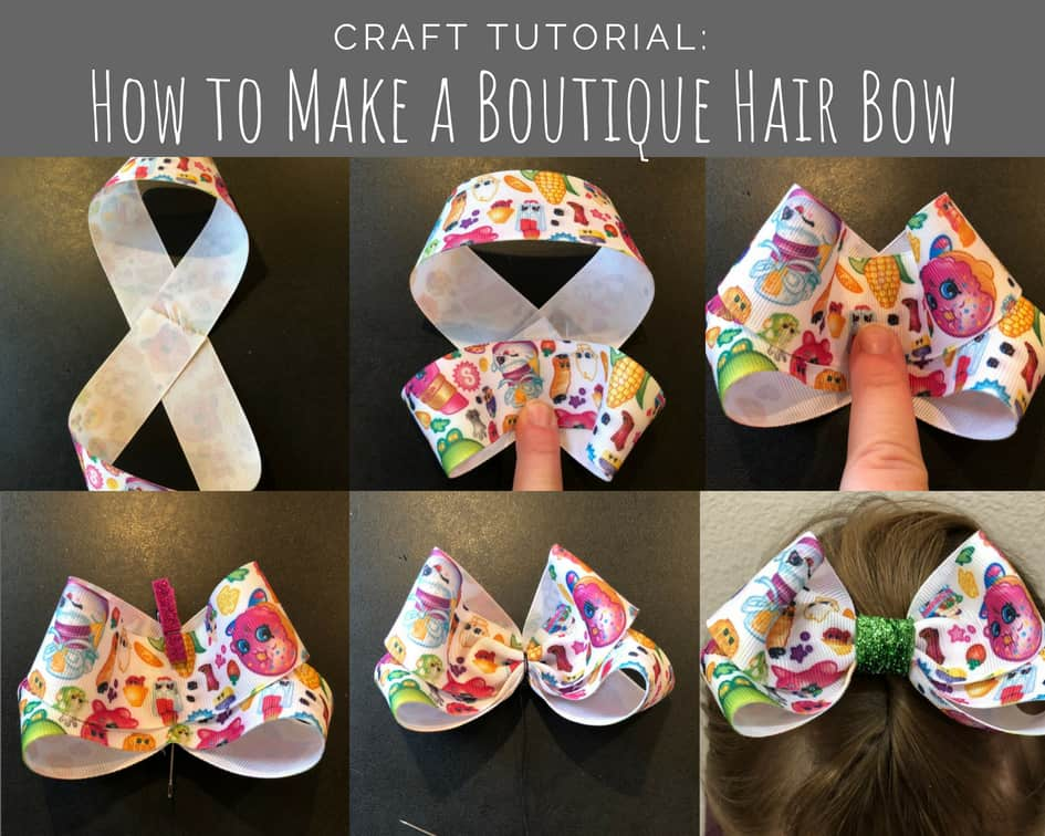 How to Make a Boutique Hair Bow