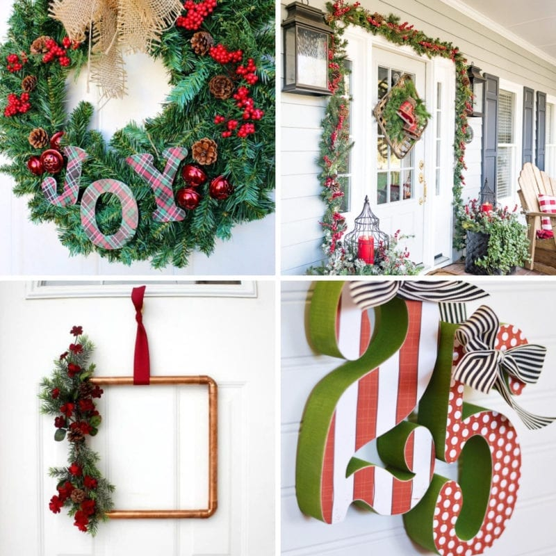 Christmas Front Door Ideas My