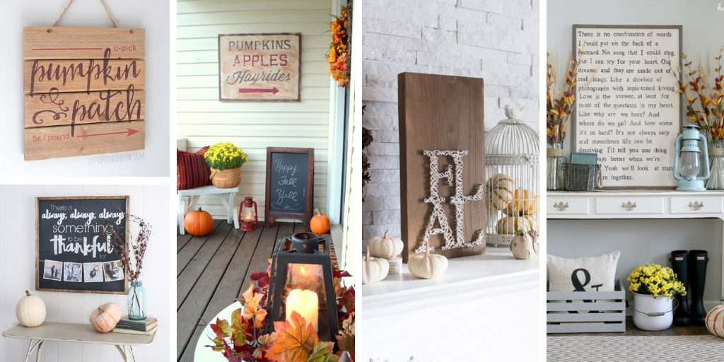 Let's make all these farmhouse style signs for my house