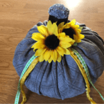 How To Make Fabric Pumpkins for Fall