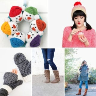 Cold weather crochet projects