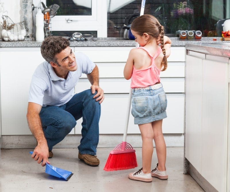 Family Chore charts can help you work together to get things done!