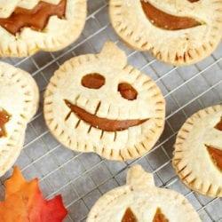 Jack-O-Lantern Hand Pies